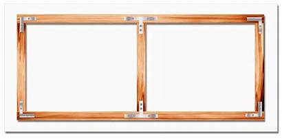 Projector Screen Material Frame Wood Fixed Framed