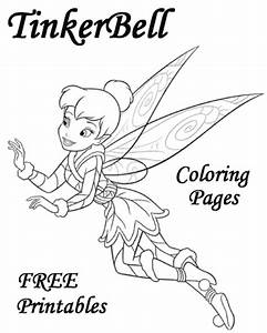 TinkerBell coloring pages and printables! | Coloring Pages ...