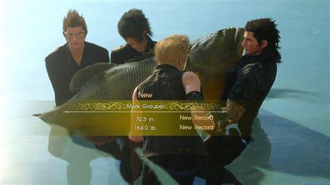 grouper murk fantasy final xv nightmare
