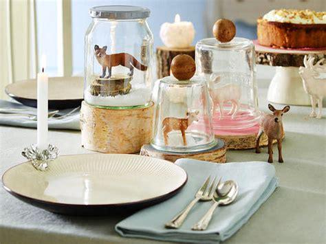 Weihnachtliche Tischdeko  Bastelideen Für Die Festtafel