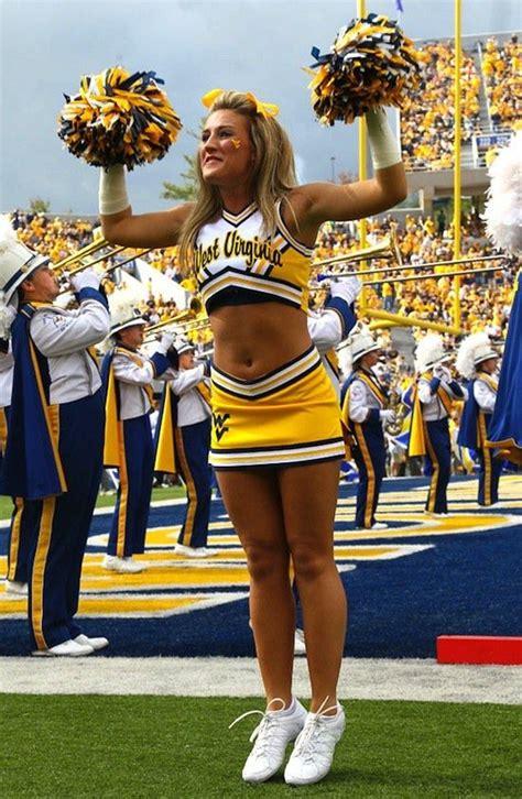wvu cheerleaders  west virginia cheerleaders