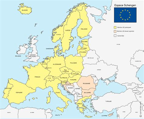 Carte Europe Avec Capitales 2016 by Cartes Europe