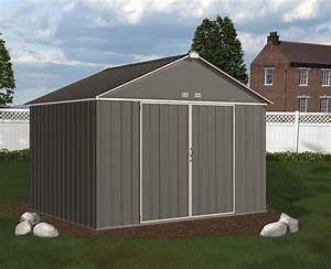 garden shed arrow ezee shed ez108 cream With big backyard sheds