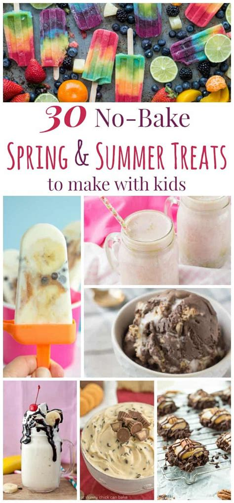 summer treats to make 30 no bake spring and summer treats to make with kids cupcakes kale chips