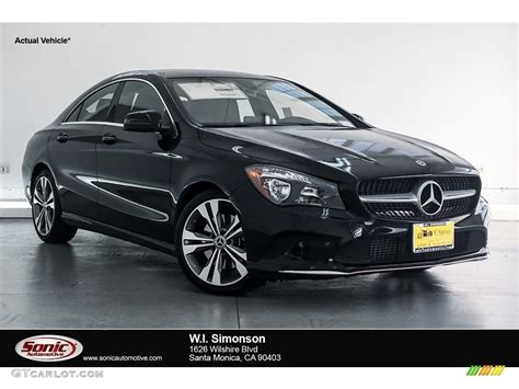 Exterior packages can add bold black accents and. 2018 Night Black Mercedes-Benz CLA 250 Coupe #127710172 | GTCarLot.com - Car Color Galleries