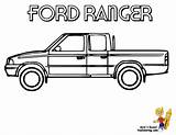 Ford Truck Coloring Pages Ranger 4x4 Pickup Raptor Clipart Sheet Trucks Chevy Dodge Clip Jacked Sheets American F450 Yescoloring Template sketch template