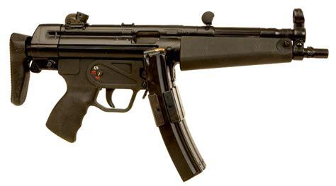 bnp siege deactivated heckler koch mp5 9mm submachine gun