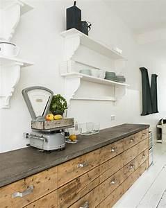 Meuble De Cuisine Industriel : cuisine industrielle l 39 l gance brute en 82 photos exceptionnelles ~ Teatrodelosmanantiales.com Idées de Décoration