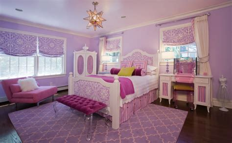 girls bedroom  traditional kids  york