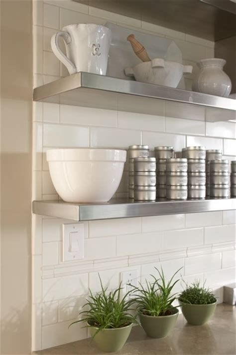 stainless steel floating shelves design ideas