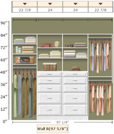 Shared Closet Organization Ideas by Organizing A Shared Closet With Easyclosets Organization