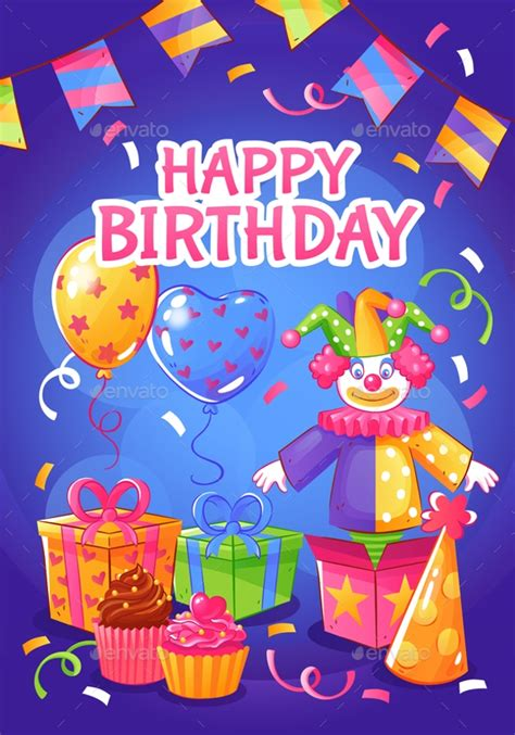 birthday poster designs  examples psd ai examples