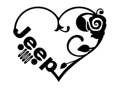 jeep heartbeat 25 bästa jeep tattoo idéerna på pinterest jeeptillbehör