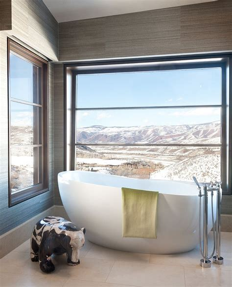 Mountain View Caltrain Bathroom by Framed To Perfection 15 Bathrooms With Majestic Mountain