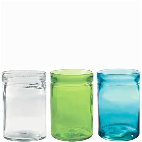 Candle Containers by Glass Containers Wholesale Recycled Glass Verona