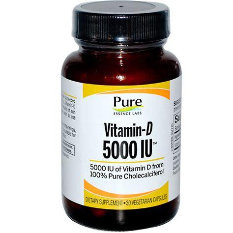 vitamin d l reviews pure essence vitamin d 5000 iu 30 veggie caps iherb com