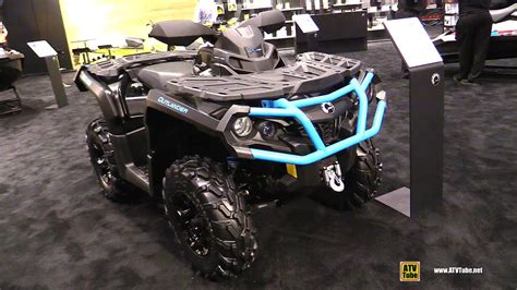 outlander xt  recreational atv walkaround