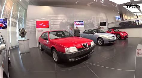 A Walking Tour Of The Newly Renovated Alfa Romeo Museum