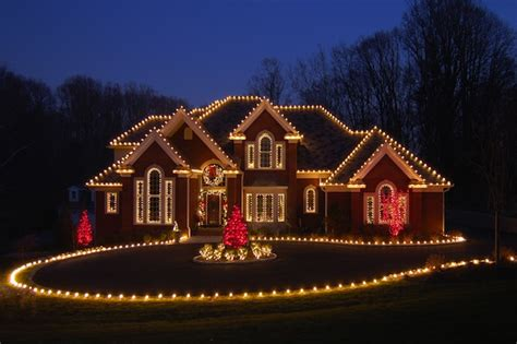 how to christmas lights on house christmas lighting installations by lifestyle landscapes