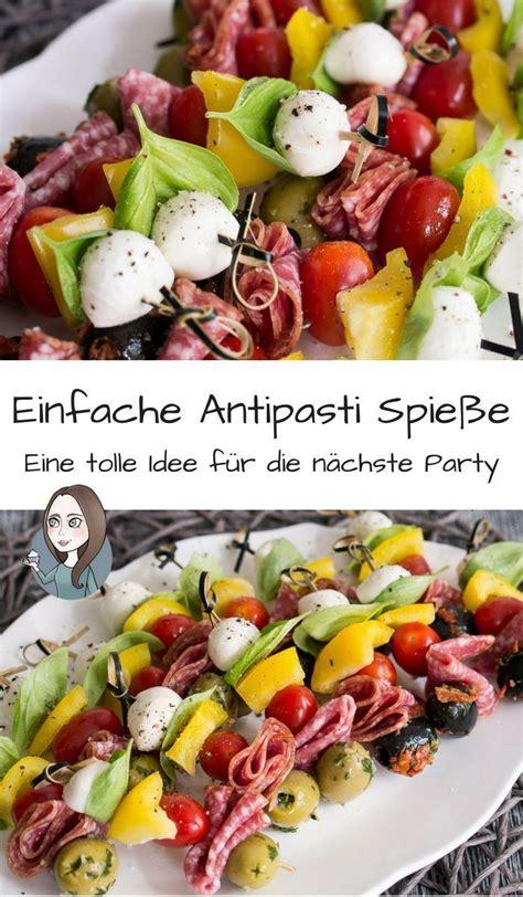 Antipasti Spieße Rezept - MakeItSweet.de | Spieße rezept ...