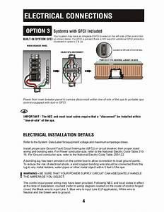 4 Wire Spa Power Wiring Diagram
