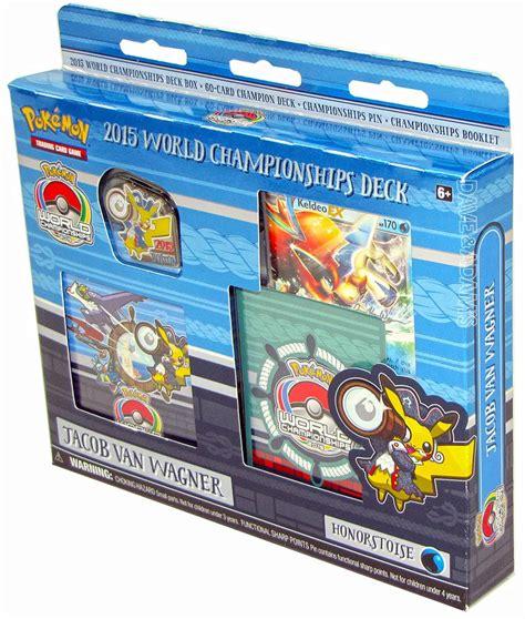World Chionship Decks 2015 by 2015 World Chionship Deck Set Of 4 Da Card