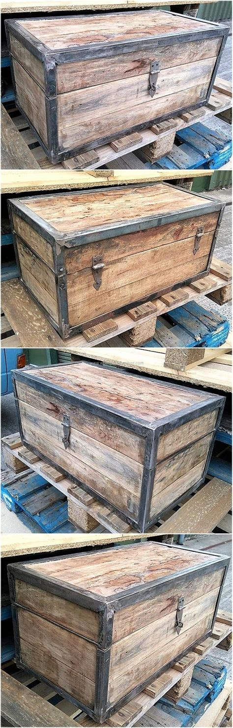 reclaimed pallet  chest woodworkingplans woodworkingplanseasy woodworking plans easy