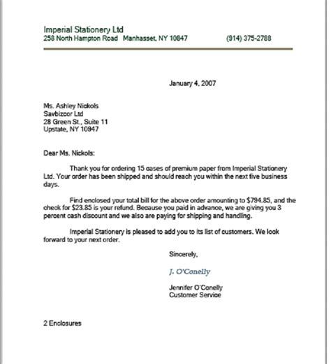 sle business letter format with business letter writing parts 28 images tips for