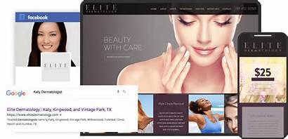 Websites Dermatology Spa Medical Website O360 Dermatological
