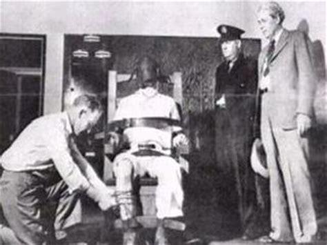 execution en direct chaise electrique peine de mort la chaise électrique la cruauté de l