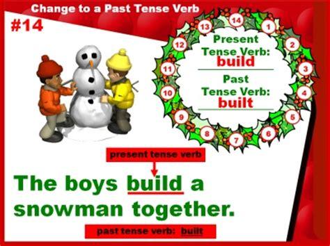 tense verbs powerpoint  grade  ideas
