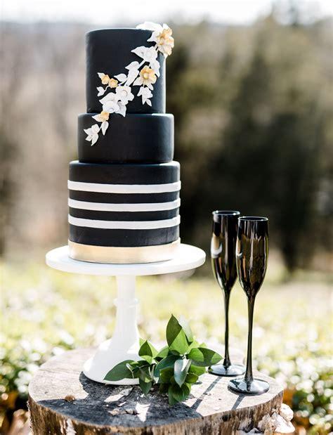 modern black white wedding inspiration green wedding shoes