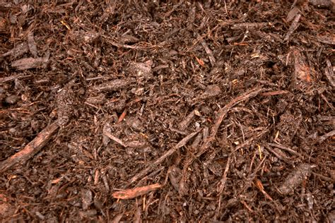 ground bark mulch double ground hardwood mulch per cu yd collins landscape