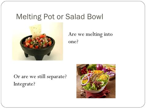 melting pot salad bowl melting pot or salad bowl