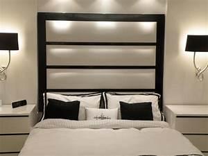Tete De Lit Moderne : 47 id es originales de t te de lit pour votre chambre coucher ~ Teatrodelosmanantiales.com Idées de Décoration