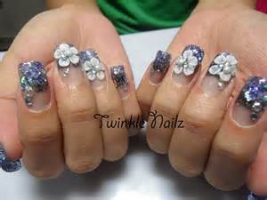 D acrylic nail art designs gallery