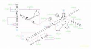 2006 Subaru Forester Power Steering Line