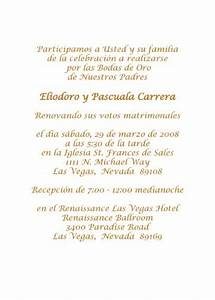 wedding invitation wording in spanish theruntimecom With wedding invitations en espanol