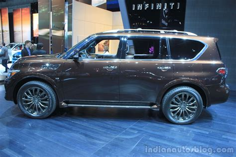 Infiniti Qx80 Limited Edition Side At The 2014 Los Angeles