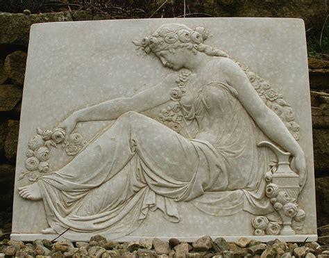 mythology wall plaque aphrodite garden wall