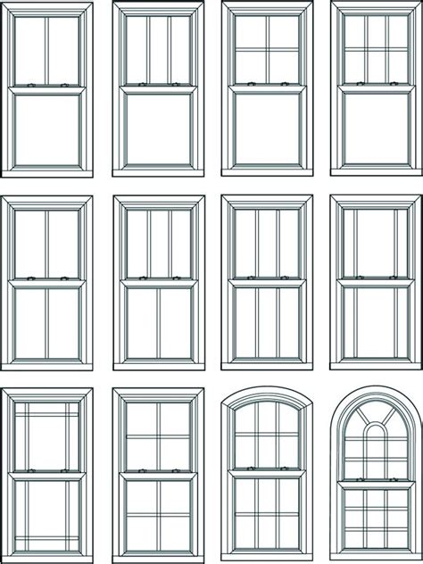 window styles double hung window double hung windows operate by sliding either of the sashes up an down within