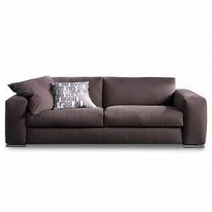 canape convertible lounge meubles et atmosphere With canapé convertible couchage quotidien avec tapis rond jaune