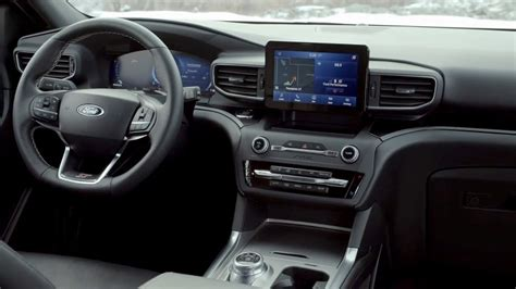 ford explorer  interior ford cars review release