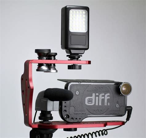 iphone rig diffcage cinema rig pro mounting solution accesories