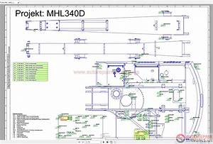 Auto Repair Manuals  Terex Fuchs Mhl 340d 1350 Wiring Diagram