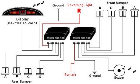 dppk2 front rear sensors front audio alerts with