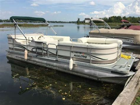 Used Pontoon Boats For Sale Waterford Mi by 2003 Manitou Pontoons Legacy 2003 Pontoon Deck Boat In