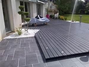 poser une terrasse en composite sur plots 10 composite With poser une terrasse en bois composite