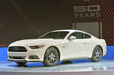 year ford mustang 169 automotiveblogz 2015 ford mustang 50 year limited