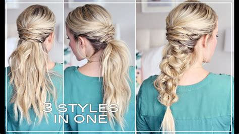 easy hairstyles youtube